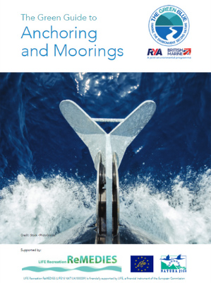 Front cover of The Green Blue Anchoring and Mooring Guide for Recreational Boaters