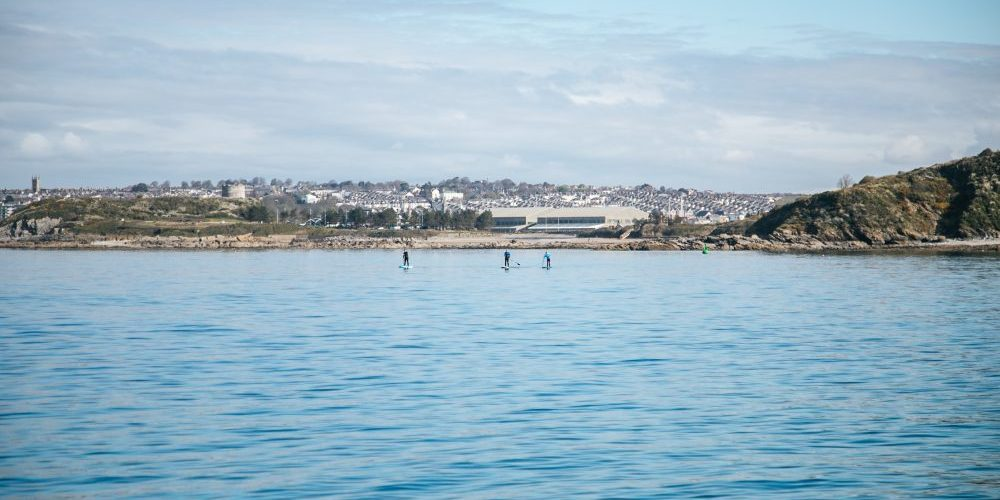 Plymouth paddle boarding. Image: Ocean Conservation Trust